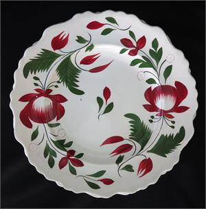 Early Adams Rose Plates