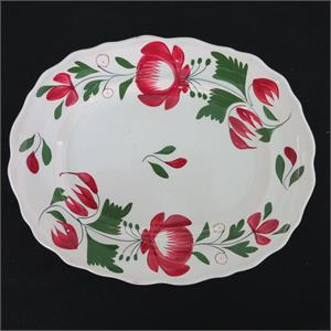 Early Adams Rose Platter