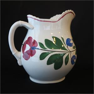 Late Adams Rose Cream Pitcher