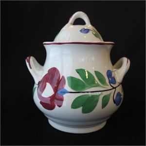 Late Adams Rose Sugar Bowl