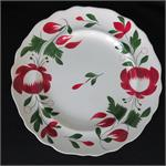 Early Adams Rose Plate